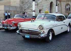 American Car Taxi Havana