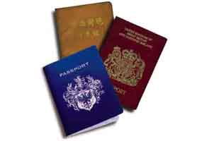 Passport for entry into Cuba